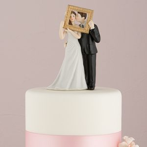 Picture Perfect Couple Figurine Cake Topper