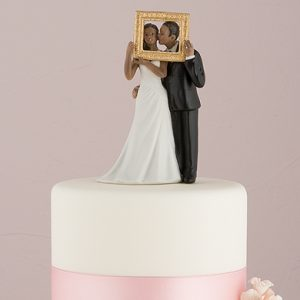Picture Perfect Couple Cake Topper