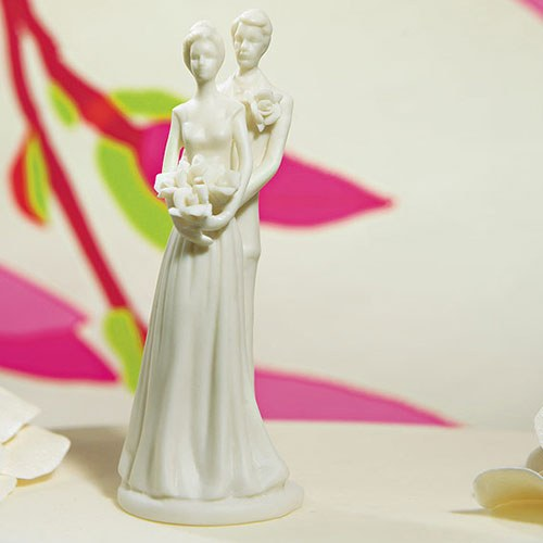 Couple Porcelain Cake Topper