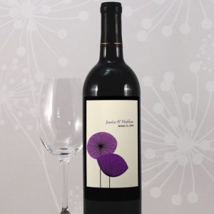 Romantic Elegance Wine Label