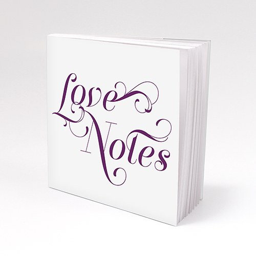 Notepad Favour with Personalized Expressions Cover