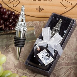 From Paris With Love CollectionEiffel Tower Wine Bottle Stopper  favours