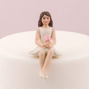 Teen Girl Cake Topper