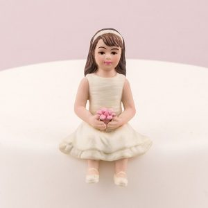 Toddler Girl Cake Topper