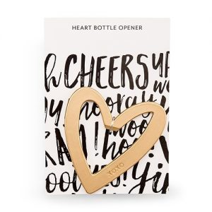 Heart Bottle Opener Wedding Favour