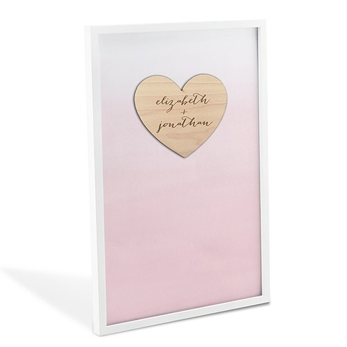 Wedding Heart Drop Box
