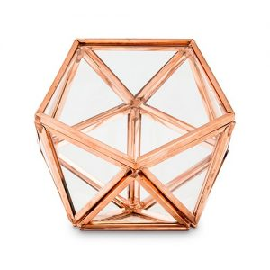 Geometric Shaped Wedding Ring Holder