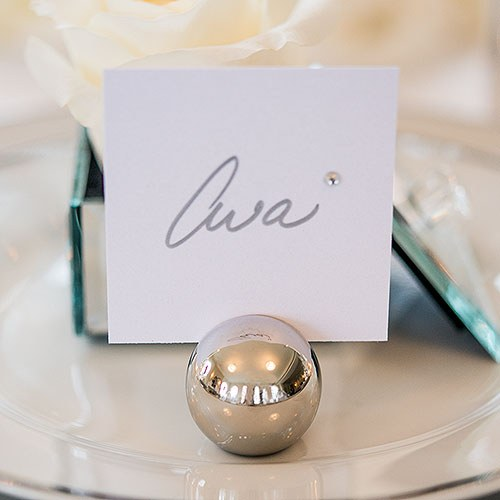 Clic Round Place Card Holder