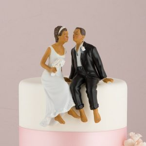 African Couple Cake Topper