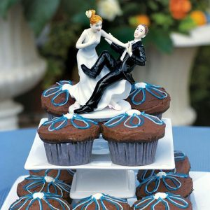 Remove term: Taking the Plunge Cake Topper Taking the Plunge Cake Topper