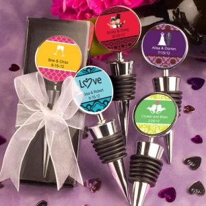 Personalized Expressions CollectionWine  Bottle Stopper favours