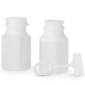 Wedding Bubble Bottle Favour