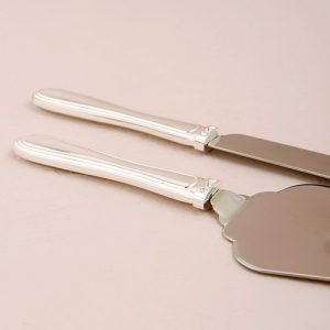 Silver Plated Cake Serving Set