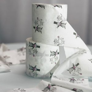Bride and Groom Toilet Paper