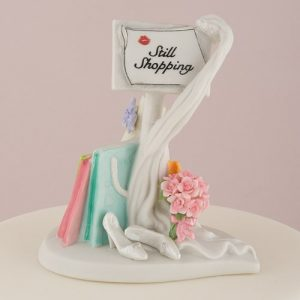 Still Shopping Message Board Mix & Match Cake Topper