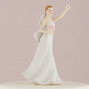 Porcelain Bride Cake Topper