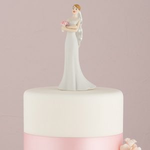 Impatient Bride Wedding Cake Topper
