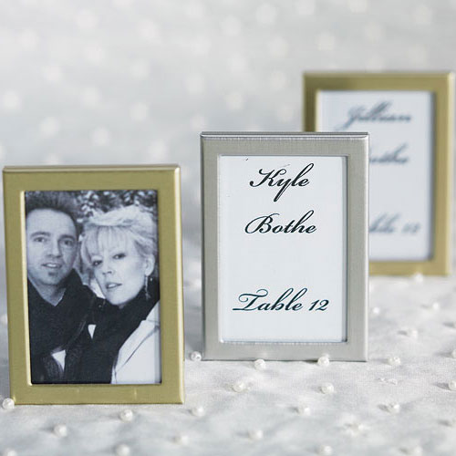 Mini Photo Frame Favour in Gold or Silver Easel Back (3) | Needful ...