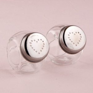 Mini Candy Jar Salt and Pepper Shaker wedding favour
