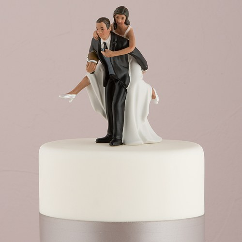Porcelain Rugby Cake Topper