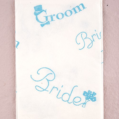 Cute Bride and Groom Tissue Packs