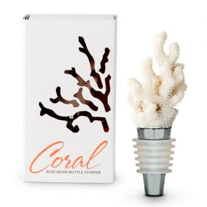 White Coral Bottle Stopper