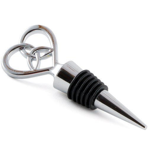 Heart Wine Stopper Favour