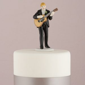 Love Serenade Groom Cake Topper
