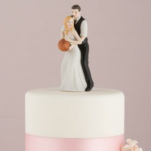 Basketball Couple Cake Topper
