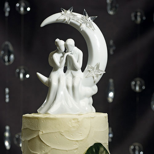 """""""Written in the Stars"""" Bride and Groom Couple Figurine"""