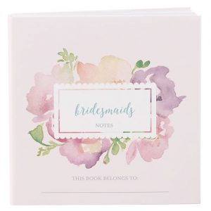 Personalised Notepad Wedding Favour