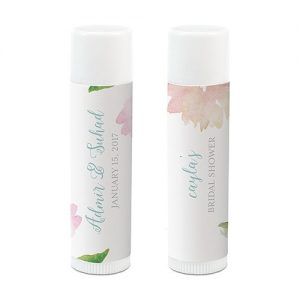 Personalised Wedding Lip Balm