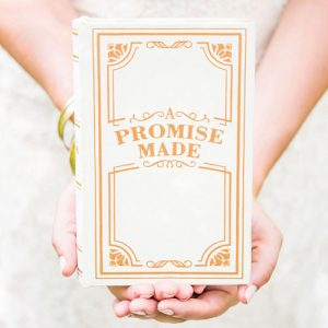 """A Promise Made"" Vintage Inspired Jewelry Book Box"