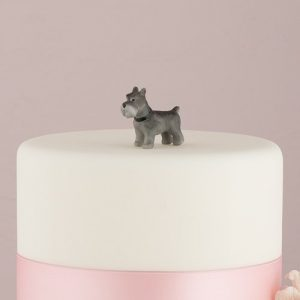 Miniature Terrier Cake Topper