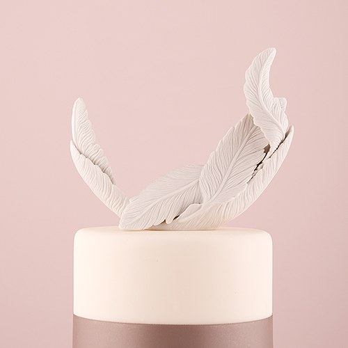 Feather Cake Topper