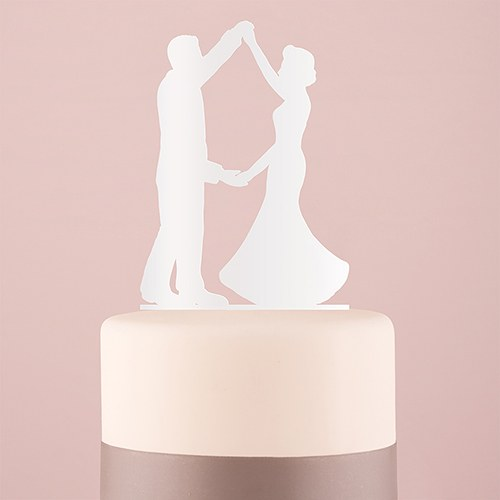 Dancing Silhouette Acrylic Cake Topper