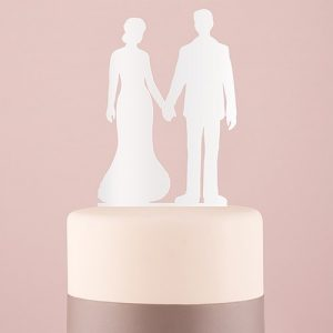 Holding Hands Cake Topper