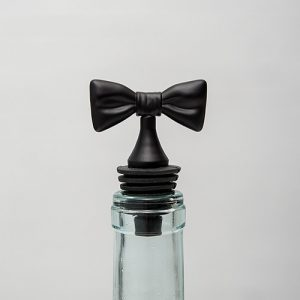 Black Tie Wine Bottle Stopper