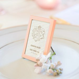 Rose Gold Mini Photo Frame Favour