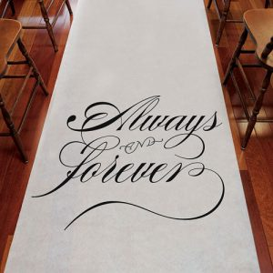 Always and Forever Aisle Runners