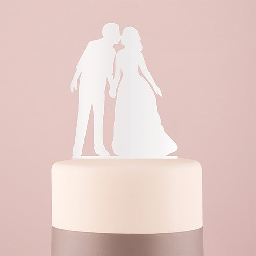 With a Kiss Acrylic Cake Topper